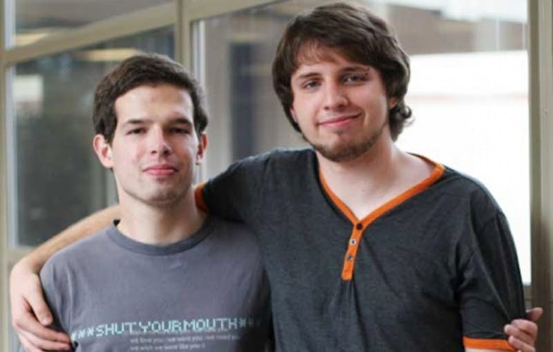 The marriage of Thomas Landreth, left, and Brett Kessler, right, is not recognized in North Carolina as a result of the Defense of Marriage Act.
