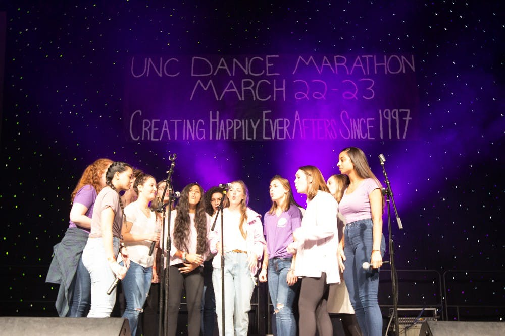 UNC Dance Marathon raises over $440,000 for UNC Children's Hospital