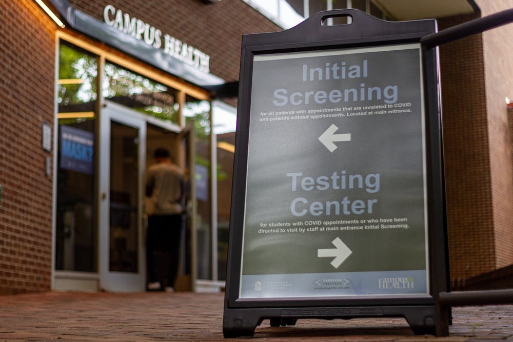 UNC students experience anxiety as they await COVID-19 test results