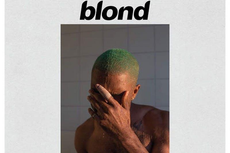 "The newest Frank Ocean album, ""Blonde"""