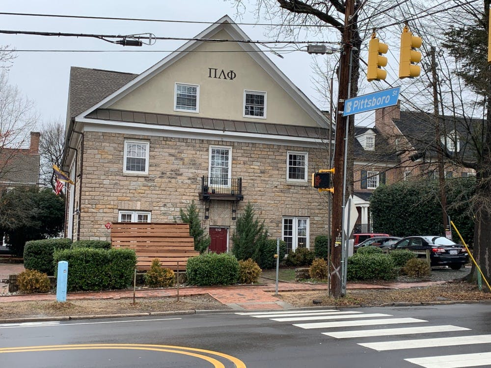 <p>Five members of Pi Lambda Phi have been charged with tampering with smoke alarms in their house on Cameron Avenue after firefighters responded to a carbon monoxide alarm on Feb. 14, 2019.&nbsp;</p>