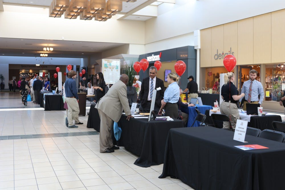 <p>Orange County hosted a job fair in September at University Place in Chapel Hill.&nbsp;</p>