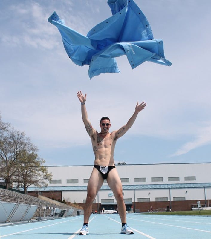 Dylan Moore, aka Nicky Showtime, began his stripping career in high school.
