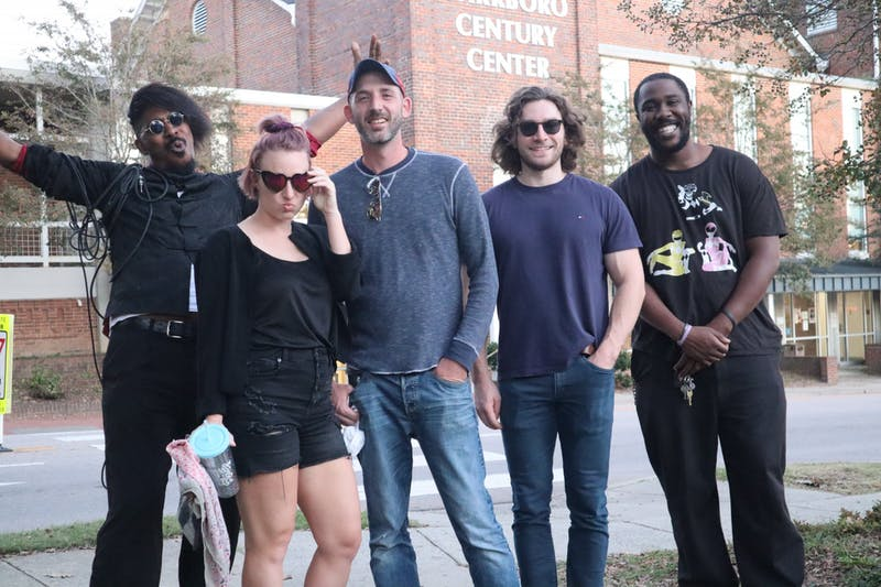 The band WhoIAre performed at the 2020 Carrboro Music Festival. Photo courtesy of Aaron Riley.