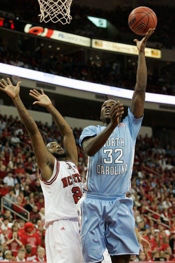 Sophomore Ed Davis decided to skip his final two seasons at North Carolina to enter the NBA Draft. DTH/Phong Dinh