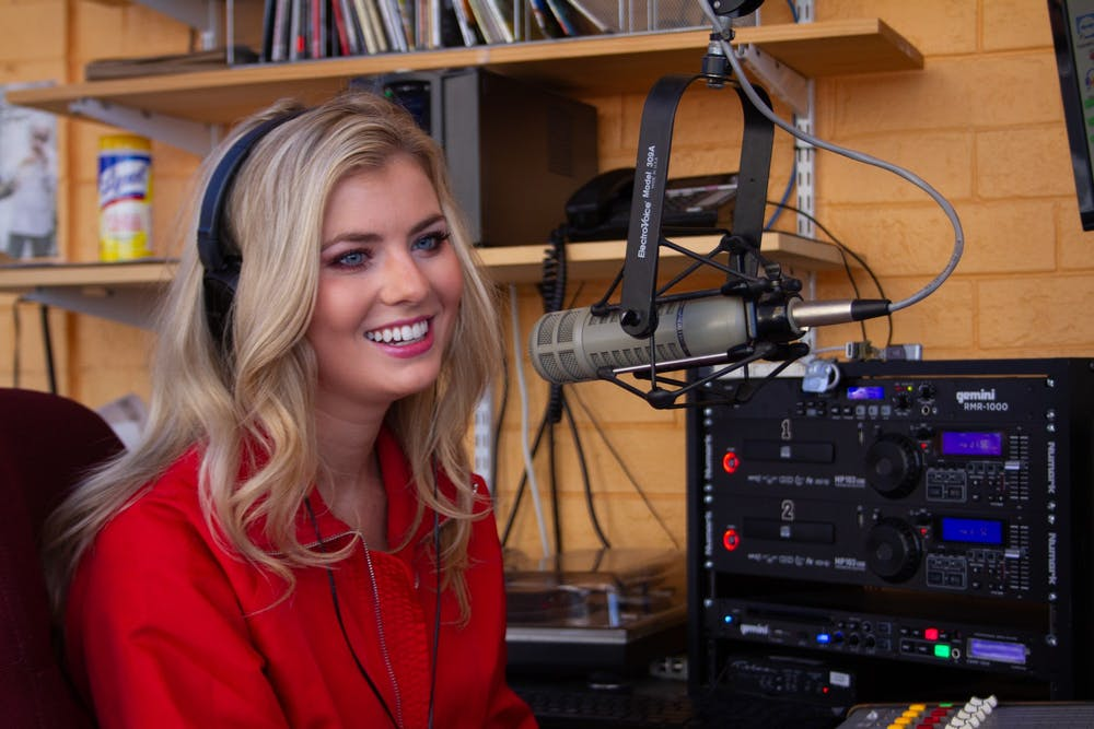 Meet the UNC student who has her own radio show