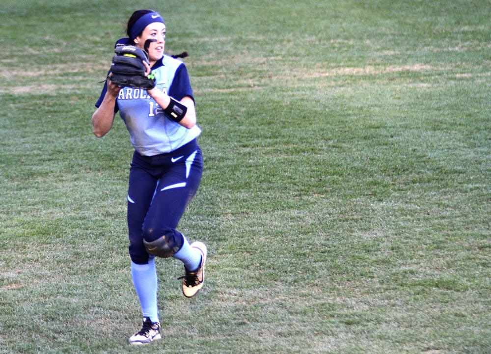 UNC softball fails to close against top teams in Judi Garman Classic