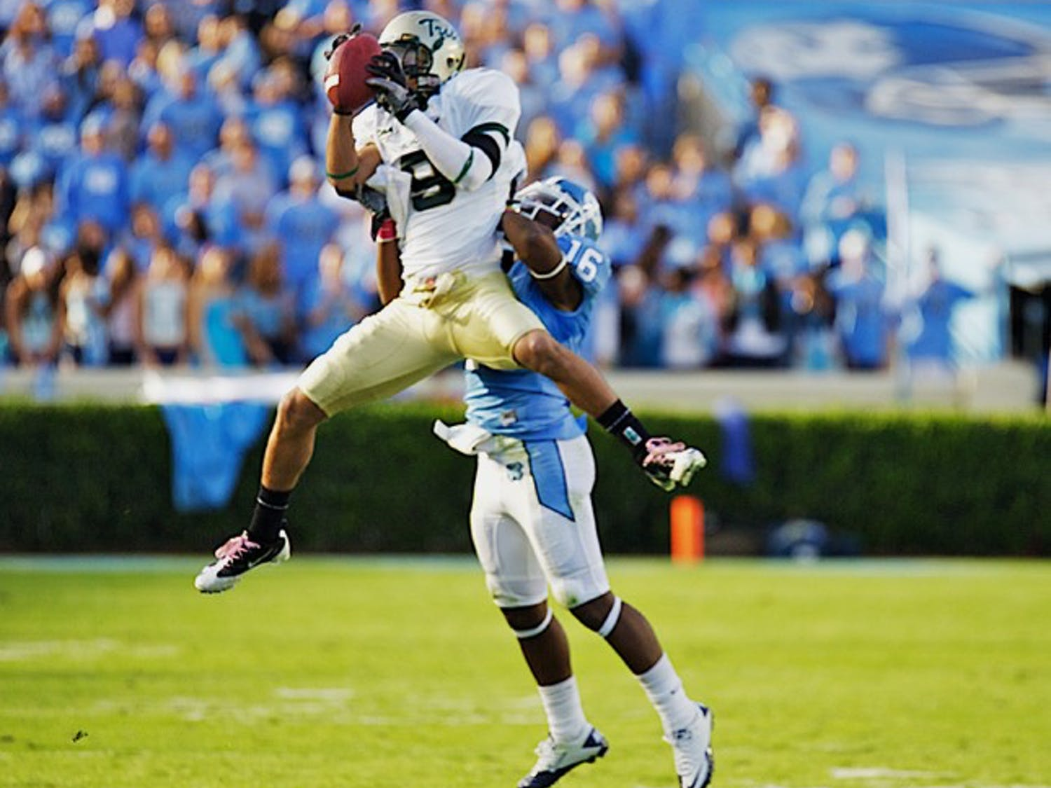 In Kendric Burney's first game back from sitting seven games, the senior cornerback tallied more tackles than any other Tar Heel on Saturday.