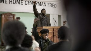 """From front to back: LaKeith Stanfield and Daniel Kaluuya in """"Judas and the Black Messiah."""" Photo by Glen Wilson/Warner Bros. Pictures/TNS"""