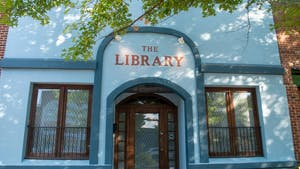 The Library sits on Franklin Street on Wednesday June 23, 2021.