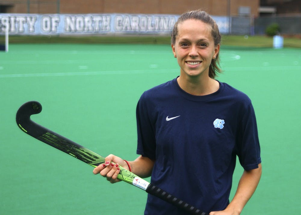 Redshirt junior Black balances field hockey, academics