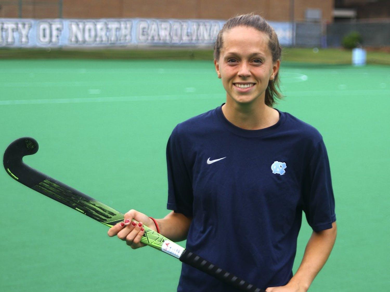 Junior Field Hockey player Rachel Black is preparing to graduate early and attend pharmacy school