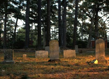 The Old Chapel Hill Cemetery has more than 350 unmarked graves.
