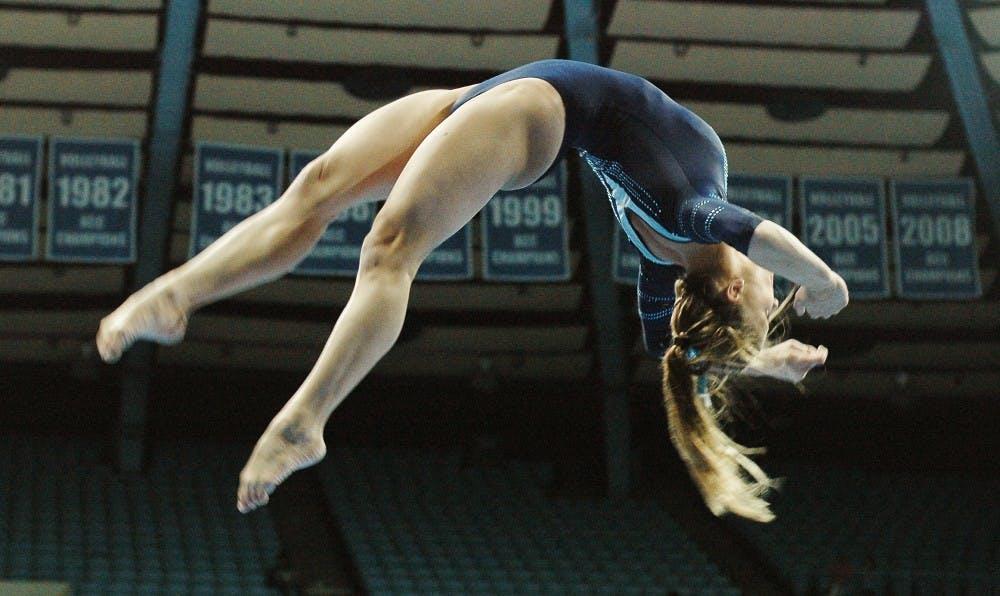 UNC gymnastics team places ?fth