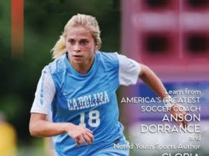"""The new edition of the 2002 book """"The Vision of a Champion,"""" co-written by Gloria Averbuch and UNC women's soccer head coach Anson Dorrance."""