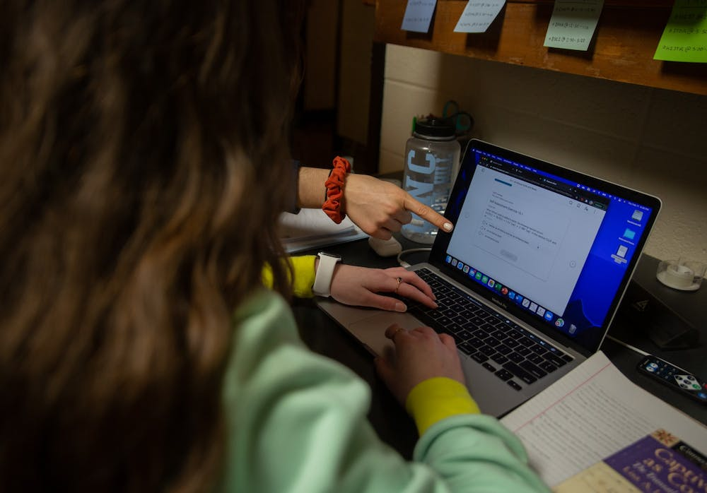 <p>DTH Photo Illustration. The Off-Campus Student Outreach Coordinator Program and the Carolina Away Student Ambassadors help connect off-campus students to create a less isolating college experience.</p>