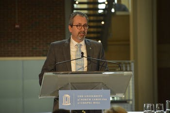 Scott De Rossi recently named the 8th dean of the UNC School of Dentistry