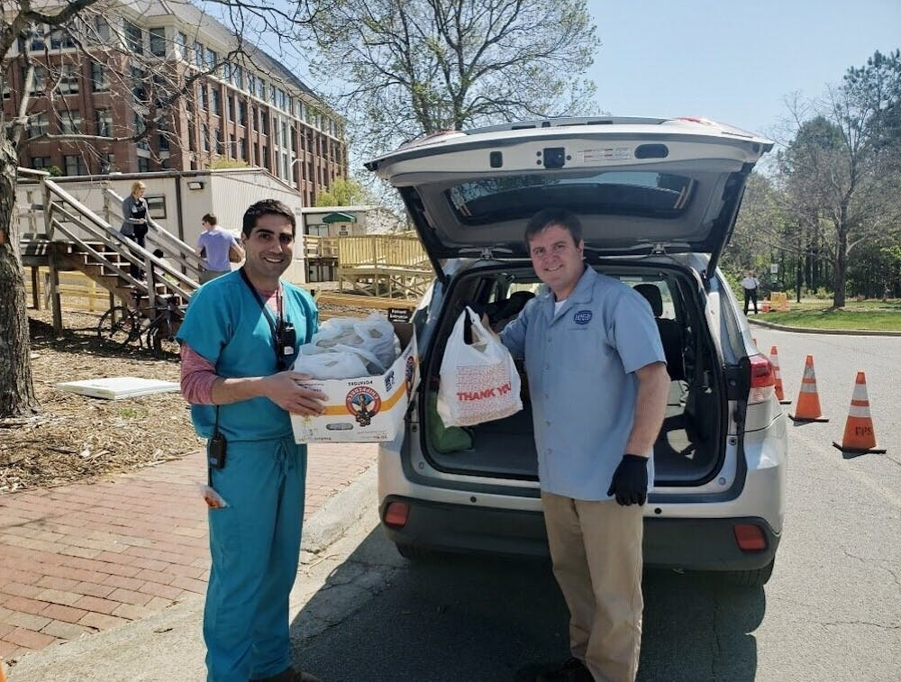Local fundraisers provide meals to health care workers during pandemic