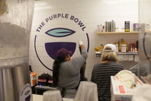 Açaí bowls have come to Franklin Street with the opening of The Purple Bowl.
