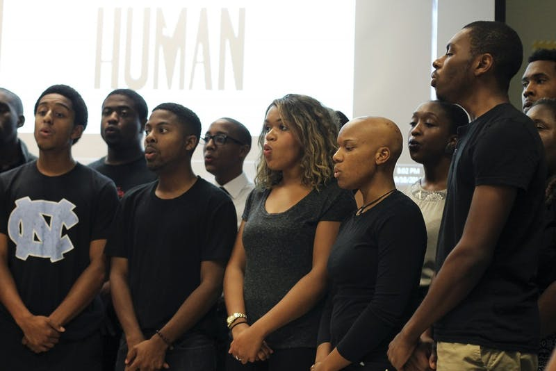 "The UNC chapter of the NAACP and the Xi Gamma chapter of Phi Beta Sigma Fraternity hosted ""I Am A Human"", a panel that discussed recent minority injustices and possible strategic solutions featured the UNC Harmonyx on Tuesday evening."