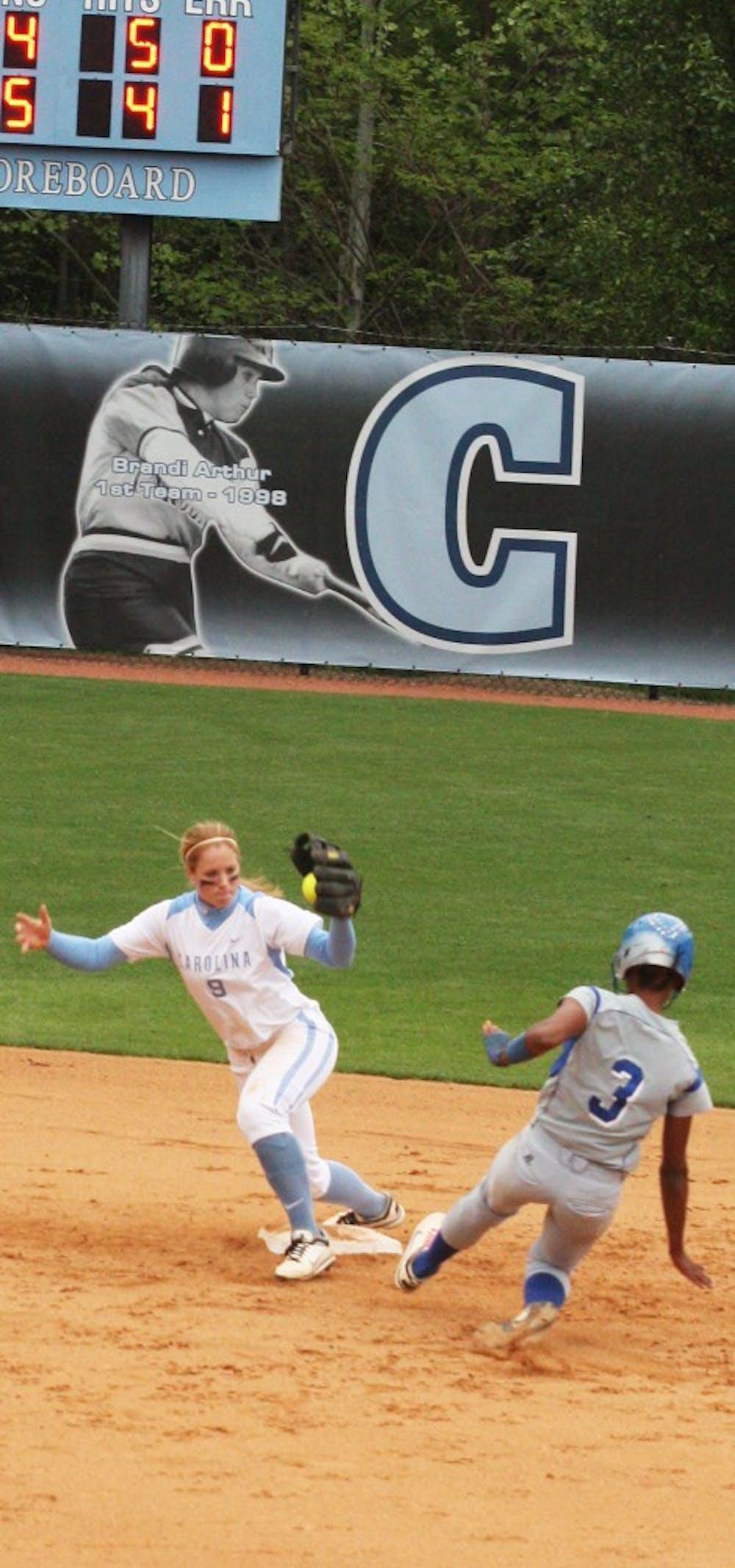 Hot bats carry UNC softball through doubleheader