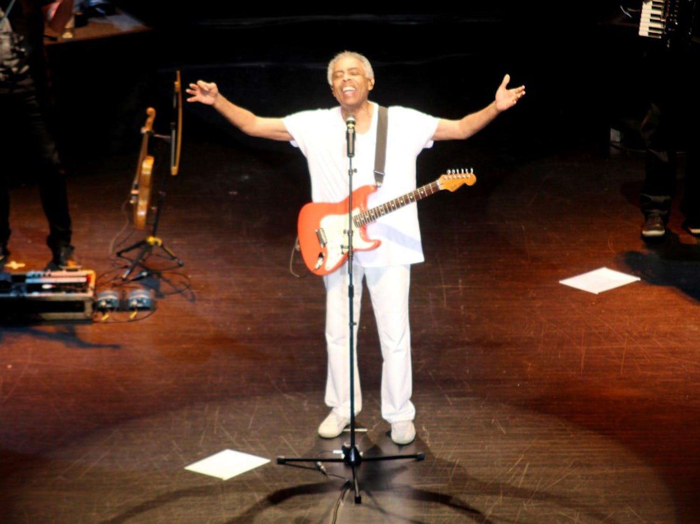 Brazilian rock star Gilberto Gil performs Monday night in Memorial Hall.