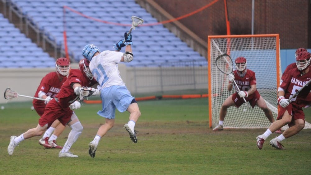 Justin Anderson leads UNC's patient approach in 16-11 lacrosse win over Harvard