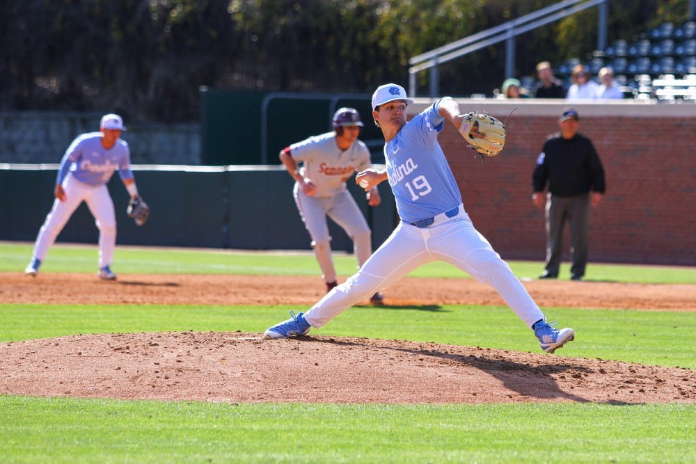 UNC baseball eliminated from College World Series in 11-6 loss to Oregon State