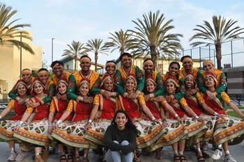 The University of Virginia HooRaas will perform at the official Raas All-Stars bid competition on Saturday, Feb. 15 from 5 - 9 p.m. in Memorial Hall. Photo courtesy of Pushpak Patel.