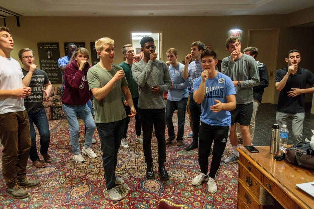 A cappella involvement entails 'the time commitment of a job' and love of the game