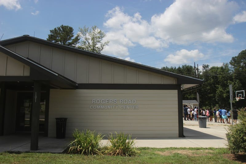 The Rogers Road Community Center hosts camps for kids during the summer.