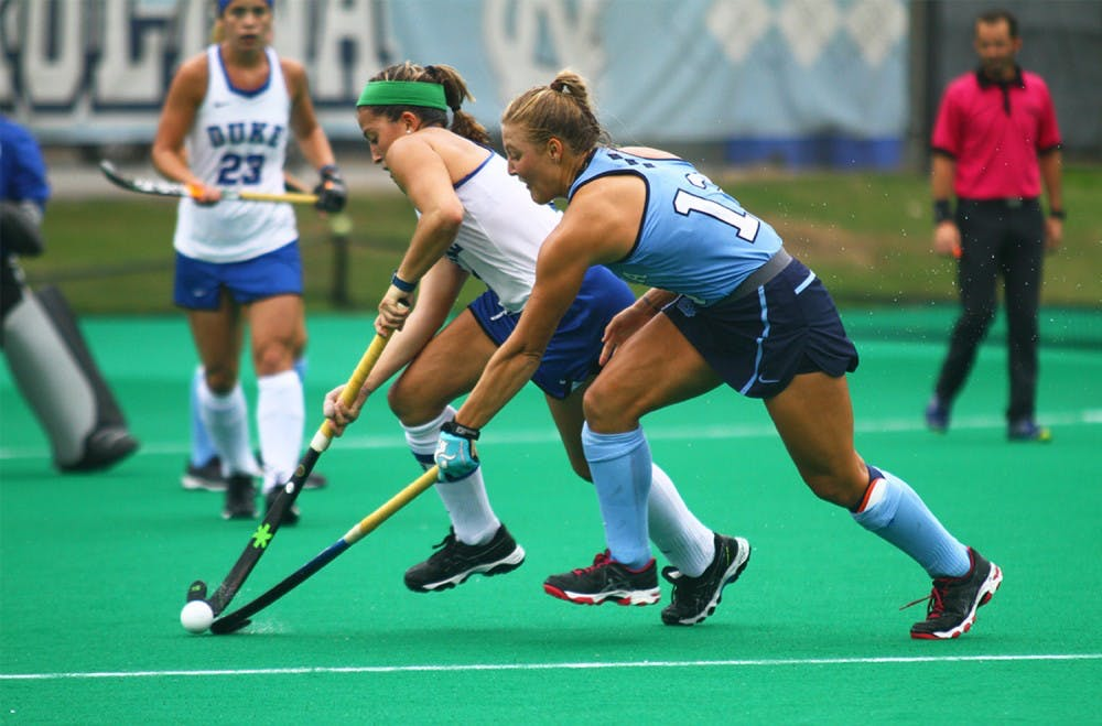 Shannon Johnson, Ashley Hoffman propel UNC field hockey to eighth straight Final Four