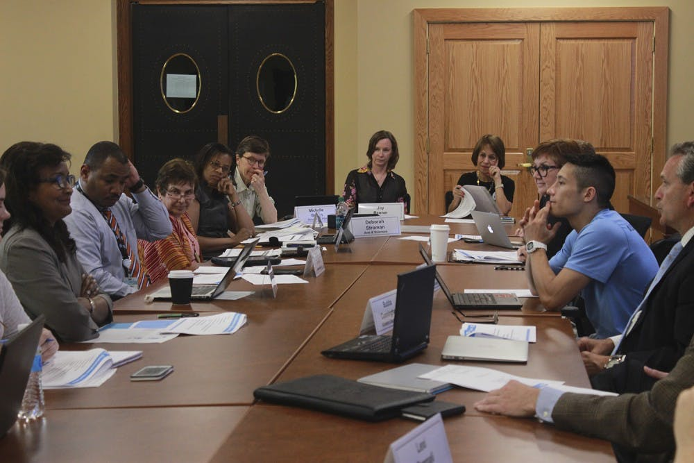 Faculty Athletics Committee discusses new athletic facilities