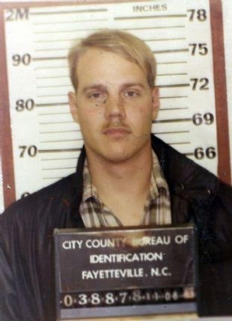 Timothy Hennis, a soldier stationed at Fort Bragg, was accused of murdering a woman and her two daughters in 1985. His case was reopened in November. Photo courtesy of the FayObserver.