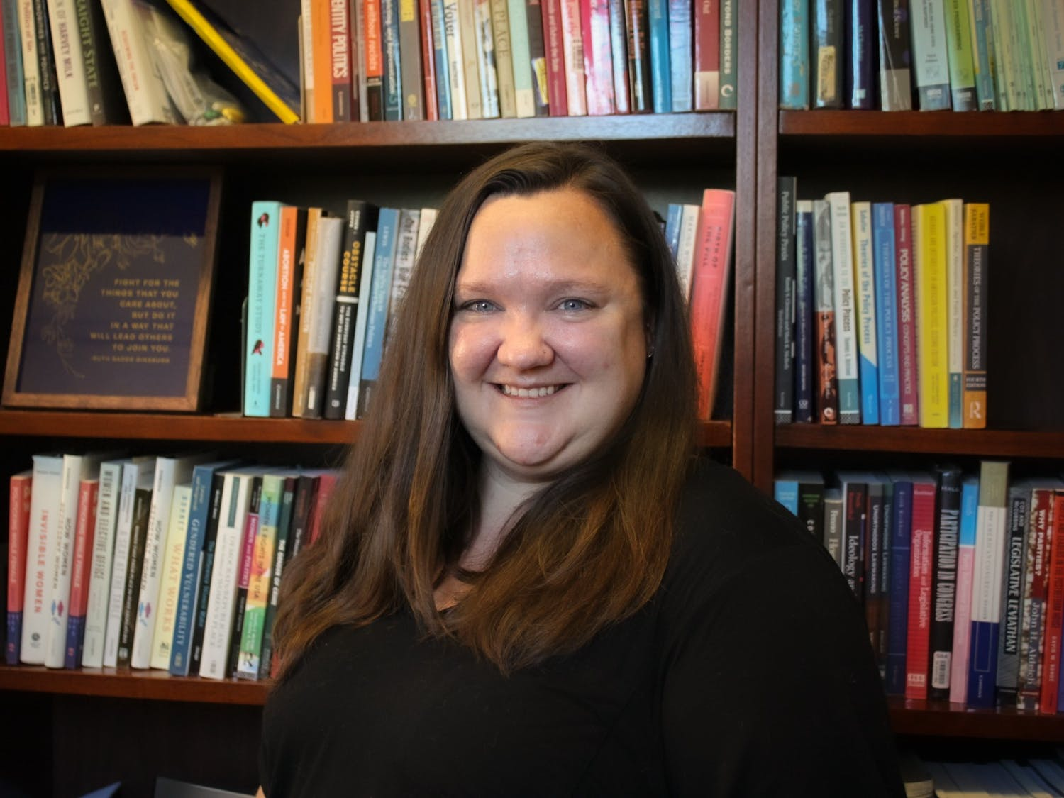 Rebecca Kreitzer is an associate professor of public policy at UNC, interested in policy inequality and the political factors that shape this inequality.