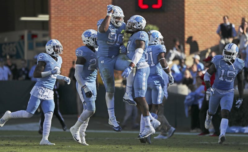 UNC defeated Georgia Tech 48-20 on Saturday.
