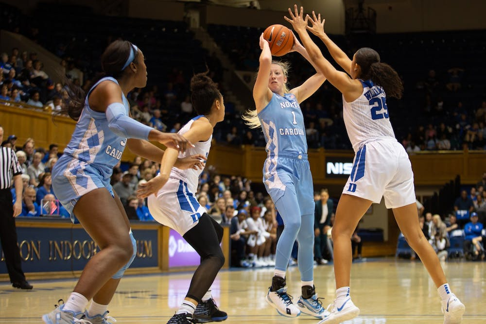 'Two steps late': Duke catches UNC women's basketball flat-footed