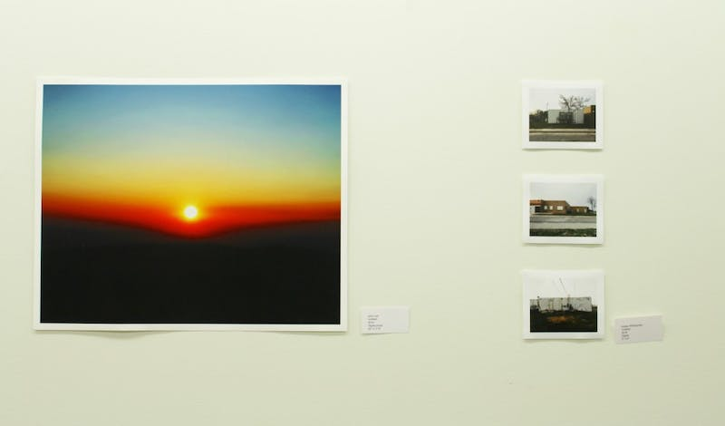 Photographs by John Jon (left) and Indaia Whitcombe (right) for the People/Place/Perception exhibit explore ideas of personal identity and its relation to place.