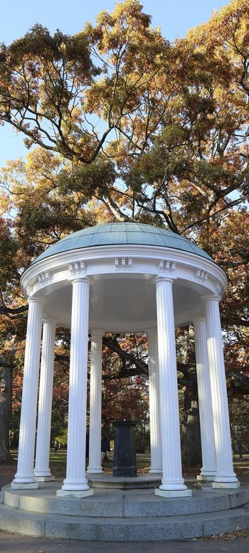 The Old Well at UNC-Chapel Hil.