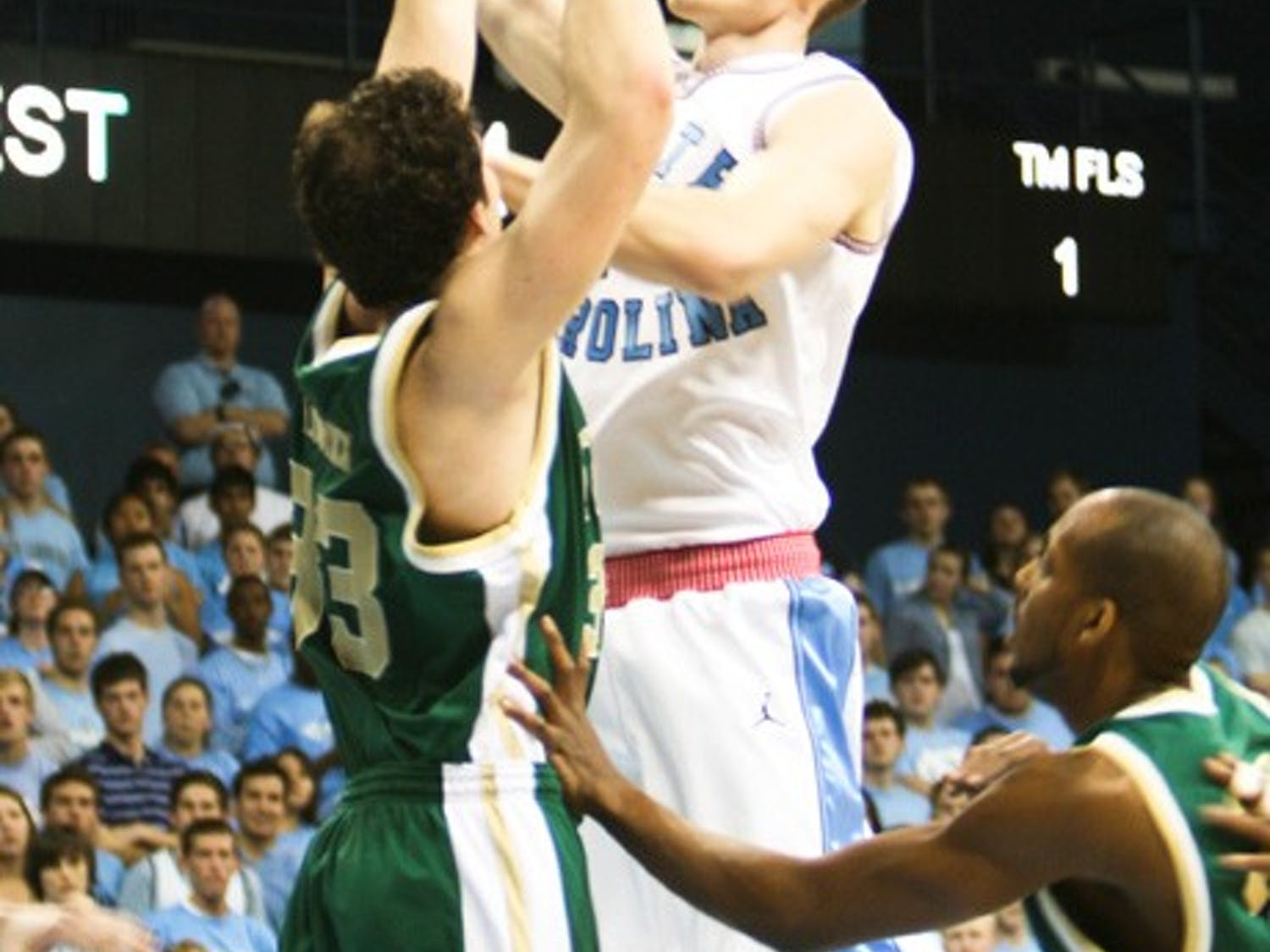 Along with John Henson, Tyler Zeller is gaining  valuable tournament experience that could help next year. DTH File/BJ Dworak