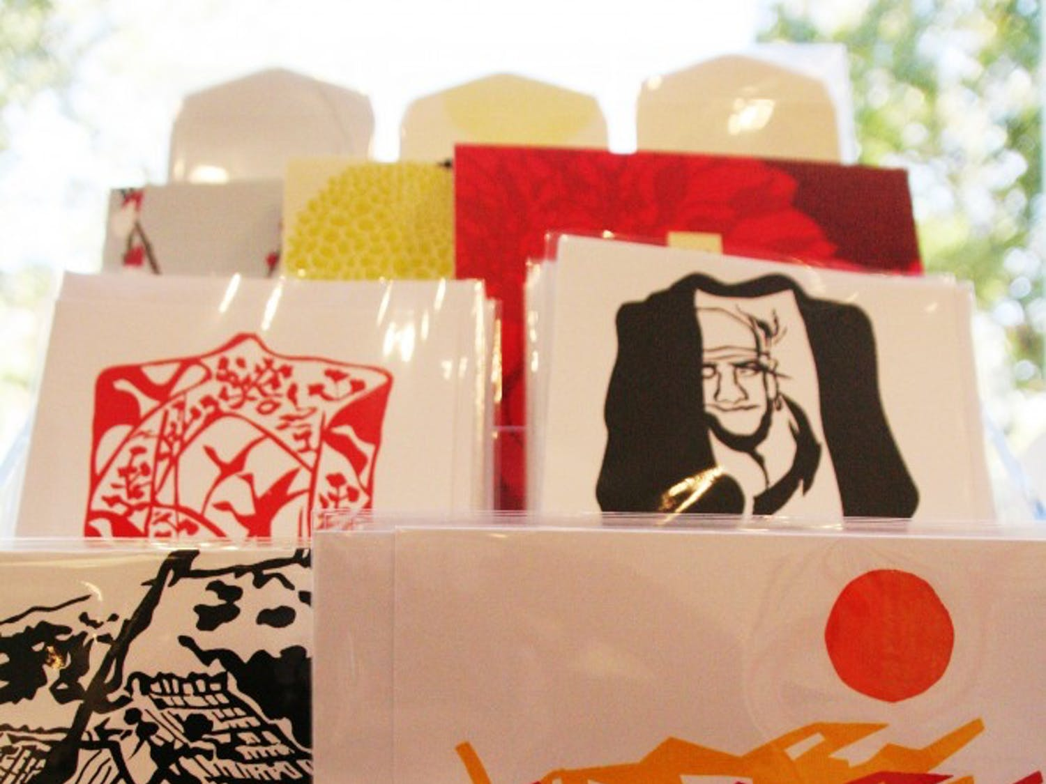 The Ackland Art Museum in-store market is opening this Thursday (10/11/12) and will feature Japanese crafts and products that are a mix of tradition and contemporary. The market will feature silkscreen prints by local artist Vidabeth Benson. The prints are hand-pulled and limited editions that reflect her years traveling to and living in Japan.