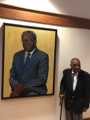 A portrait of Julius Chambers, a civil rights leader, was unveiled at the School of Law on Tuesday.