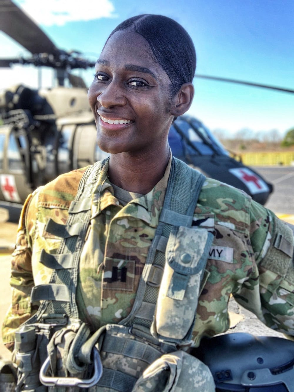 UNC grad becomes first Black female pilot for N.C. National Guard