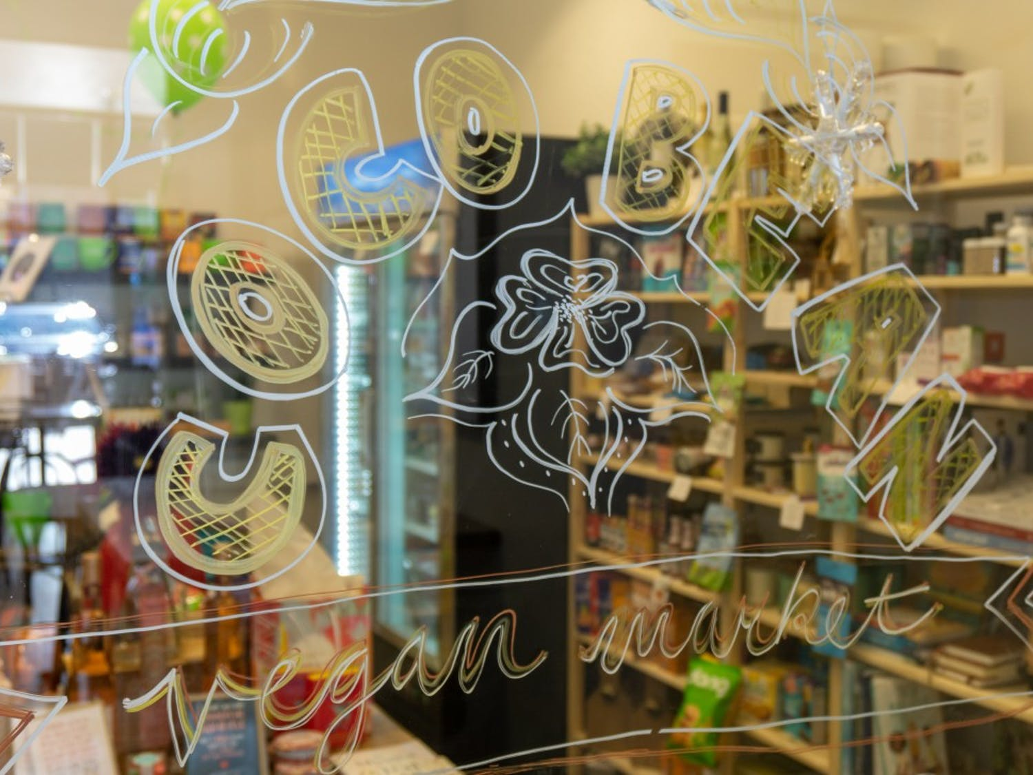 Tamara Lackey opened the Coco Bean Vegan Market, at1114 Environ Way,  as a one-stop shop for customers to buy products marked as vegan-friendly.