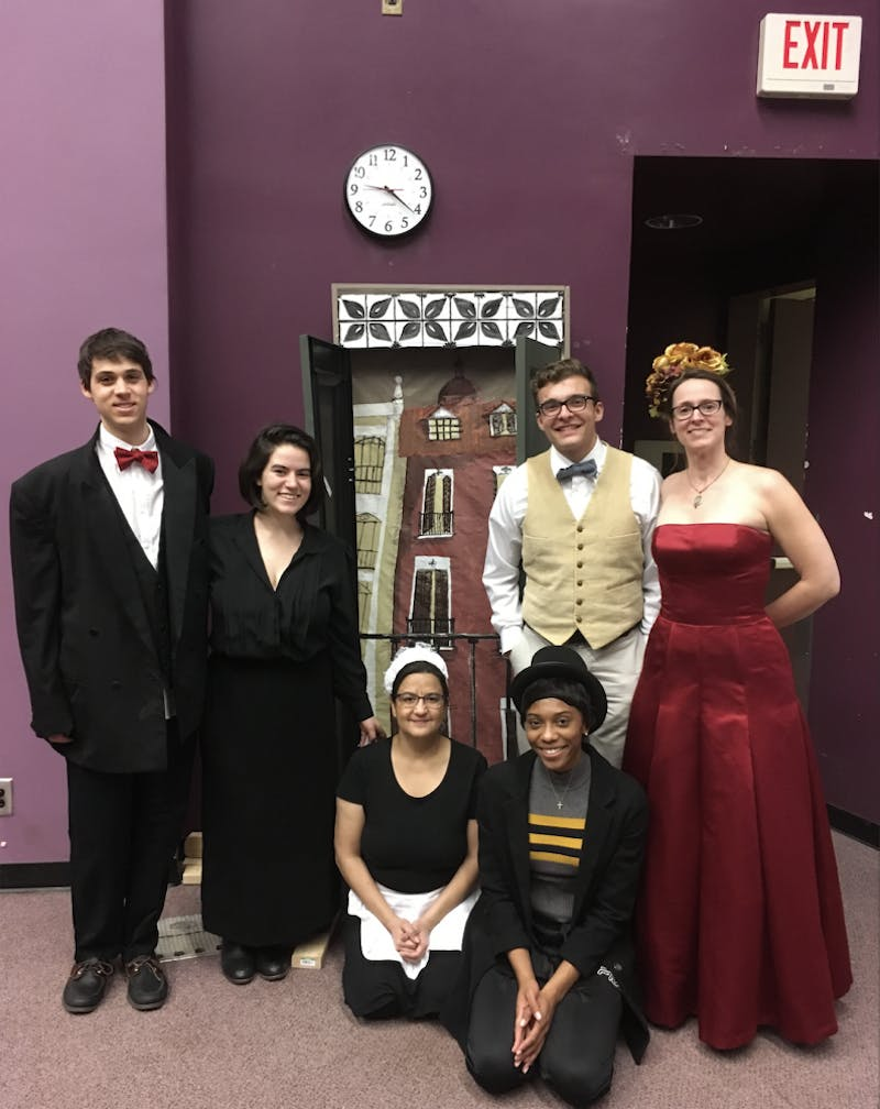 """The Department of Romance Languages is putting on, """"El palco del real,"""" a play entirely in Spanish. Photo courtesy of Alex Bejarano."""