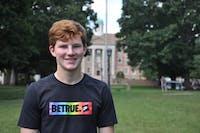 UNC first-year student Hunter Sigmund.