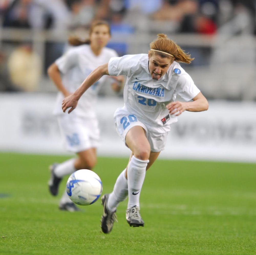 UNC women's soccer legend Heather O'Reilly has a new role on Anson Dorrance's bench