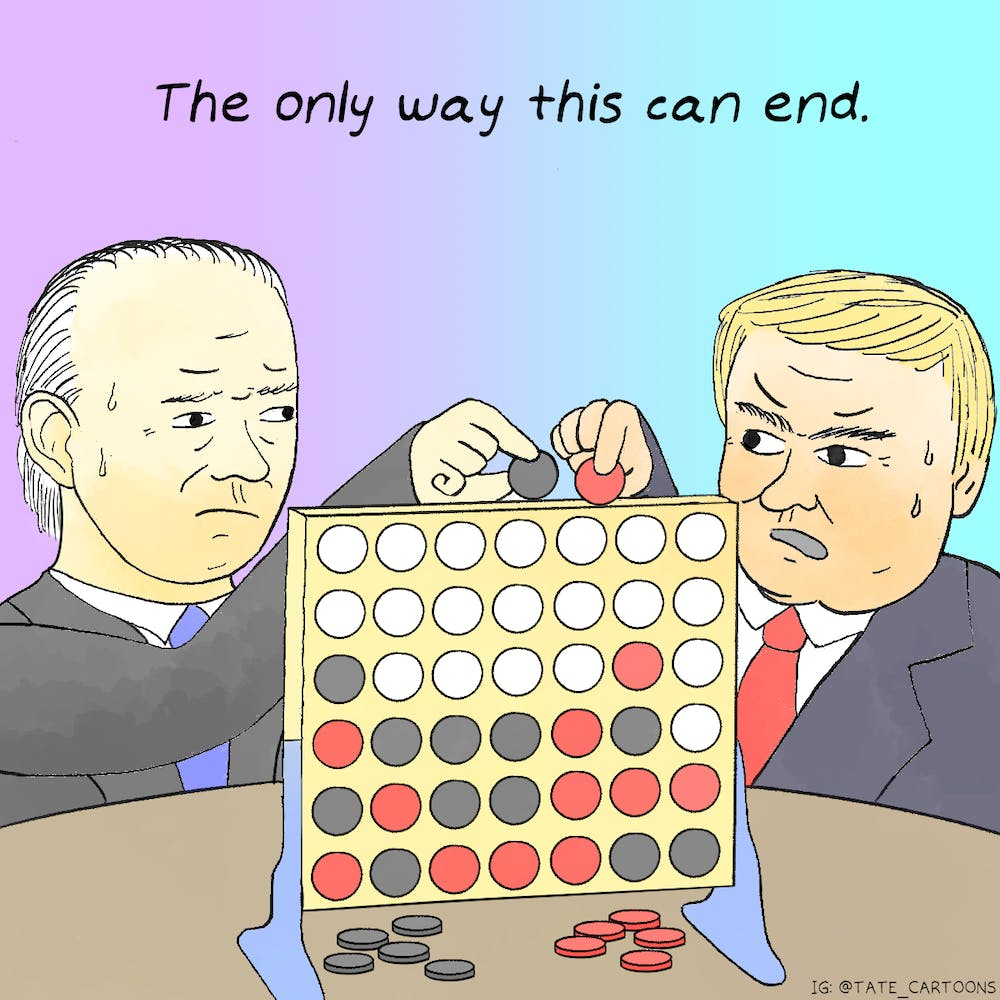 Cartoon: The only way this can end