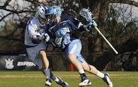 Despite a second half push, the UNC-Chapel Hill men's lacrosse team lost to Duke University 13-11 on Friday March 16.