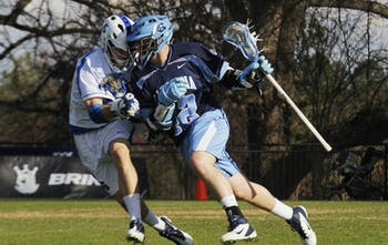 Despite a second half push, the UNC-Chapel Hill men's lacrosse team lost to Duke University 13-11 on Friday March 16.